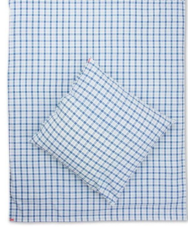 Karierte Landhaus Bettwäsche blau weiß, Landhausstil Bettwäsche Matz Möbel