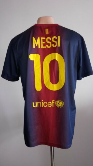 ba6bf1d7abe Football shirt soccer FC Barcelona Home 2012 2013 Nike jersey Messi  10  Camiseta