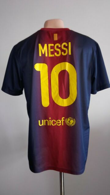 9a897df2477 Football shirt soccer FC Barcelona Home 2012/2013 Nike jersey Messi #10  Camiseta