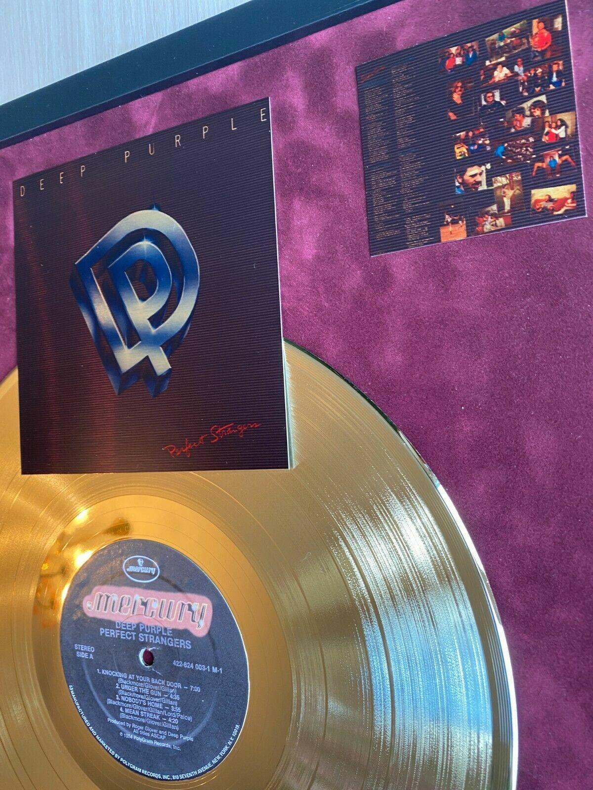 20 Methoden Deep Purple Perfect Strangers Vinyl Gold Metallisierte ...