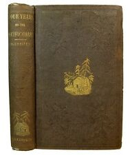 1858 MARITIME CAPE HORN PACIFIC COAST SAN FRANCISCO CALIFORNIA FIRE GOLD RUSH