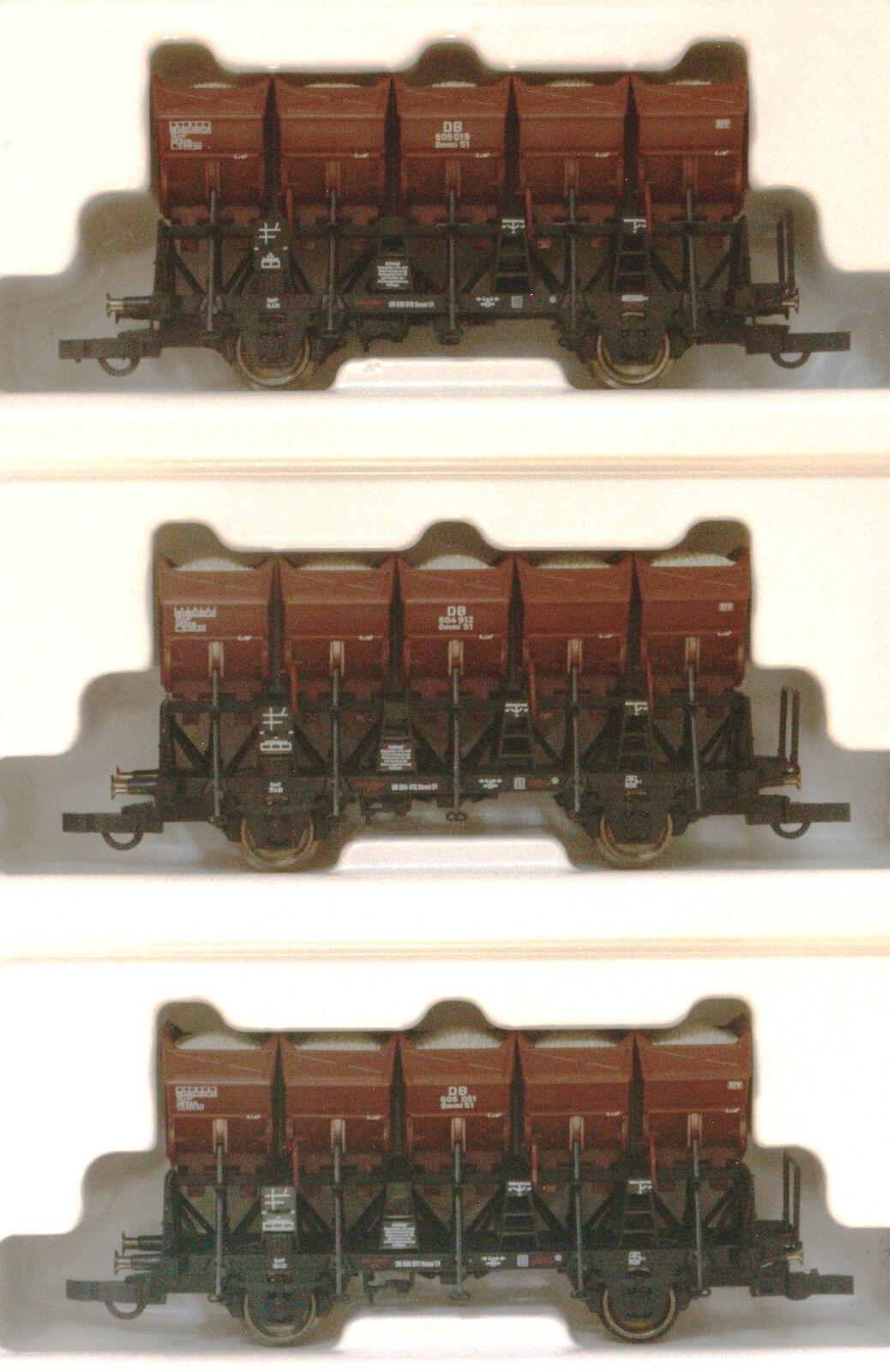 Roco 44095 zugset muldenkippwagen DB III MB
