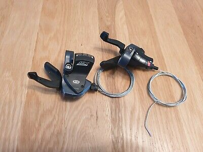 Shimano Altus SL M370 3x9 Speed Shifter Set R+L with cable
