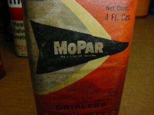 RARE 1940's WWII era MOPAR PENETRATING OIL Old 4 oz. Oiler Tin Oil Can