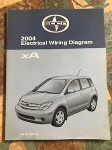 image is loading toyota-scion-xa-electrical-wiring-diagram-2004-dealership-