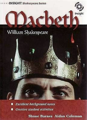 1 of 1 - Macbeth by William Shakespeare by Shane Barnes, Aidan Coleman (Paperback, 2009)