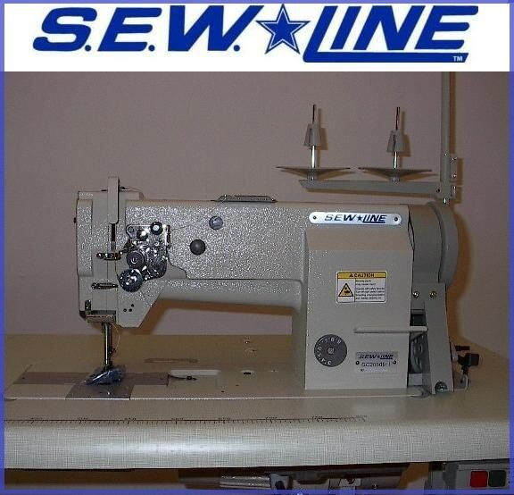 Sewline SL40 HD Leather Walking Foot Wservo Industrial Sewing Inspiration Sewline Walking Foot Sewing Machine