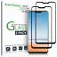 LG-G7-ThinQ-amFilm-Full-Cover-Tempered-Glass-Screen-Protector-2-Pack-Black thumbnail 1