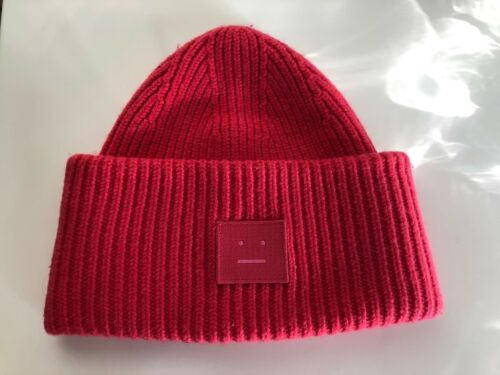 ACNE Studios Pansy N'Face Beanie Hat One size - Pi