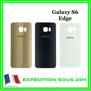 VITRE-FACADE-ARRIERE-CACHE-BATTERIE-POUR-SAMSUNG-GALAXY-S6-EDGE-G925-ADHESIF