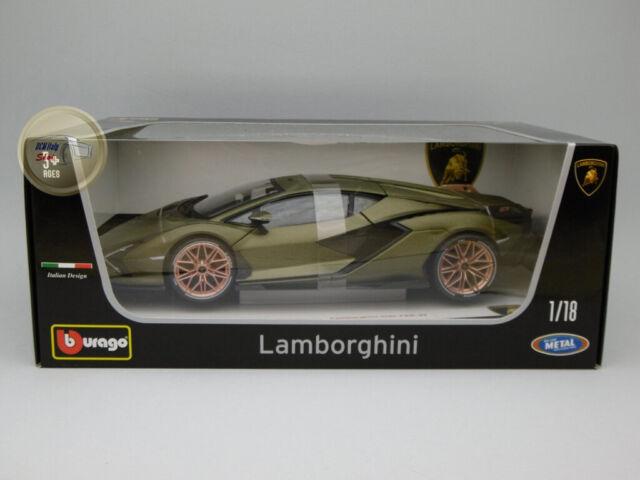 Lamborghini Sián - Burago 1:18 - BU11046GR