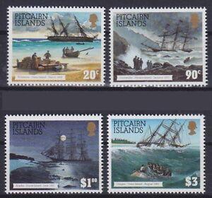 Militaer-Marine-Kriegsschiffe-Pitcairn-Mi-Nr-432-435-postfrisch-MNH