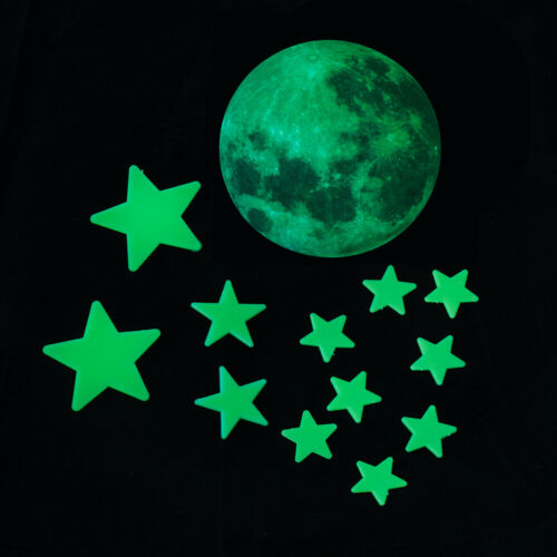 Glow in The Dark Planet Star Stickers Wall Decals for Kids Room Wall Ceiling 3D