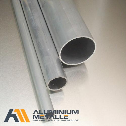 Aluminium Rohr Ø 20x2mm AlMgSi0,5 Länge wählbar Alu Rundrohr Profil Alurohr