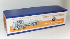 DINKY Reproduction Box 503 Foden Flat Truck with Tailboard Quality Repro (903)