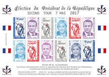 "POLITICAL LABELS NP ""France Presidential 2nd Round - MACRON & LE PEN"" 07-05-2017"