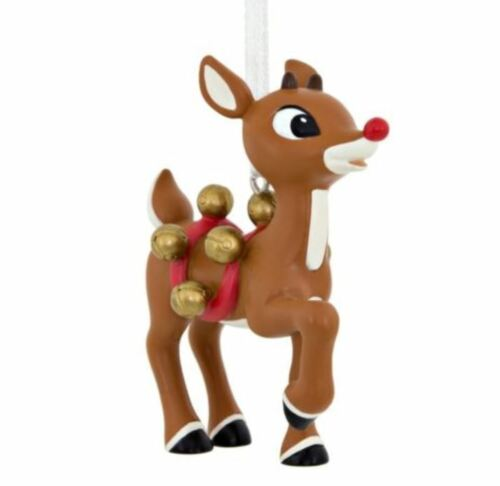 Prancing Rudolph Red Nosed Reindeer  2017 Holiday Ornament Rudolph Hallmark