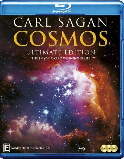 CARL SAGAN: COSMOS (ULTIMATE EDITION) (1980) [NEW BLURAY]
