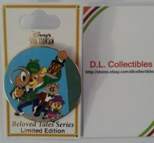 Disney-DSF-The-Great-Mouse-Detective-Beloved-Tales-LE-300-Basil-Pin