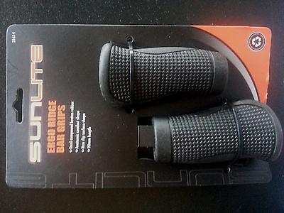 Sunlite Ergo Ridge Bar Grips 90mm - Black