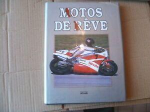 Livre-editions-ATLAS-MOTOS-DE-REVE-par-Alan-Cathcart-annee-1988