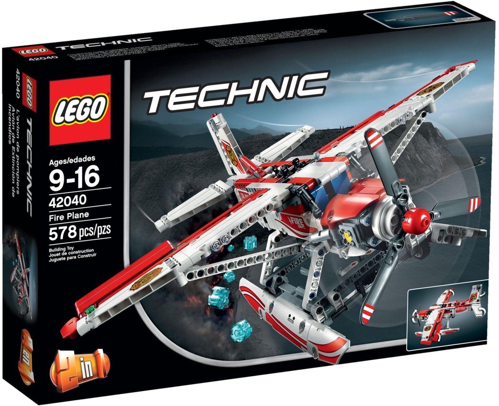 LEGO Technic Fire Plane 42040 - Brand New (Slightly tatty box)