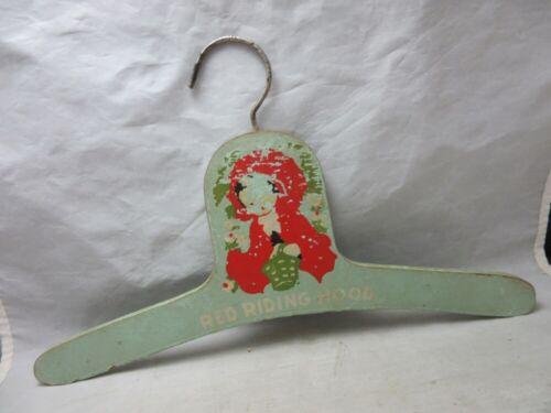 Vintage 1930's Red Riding Hood child's hanger