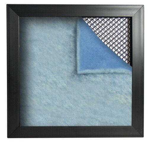 23-1//2 x 23-1//2 x 1 HVAC Air Filter Pads Blue White /& Air Filter Frame 12
