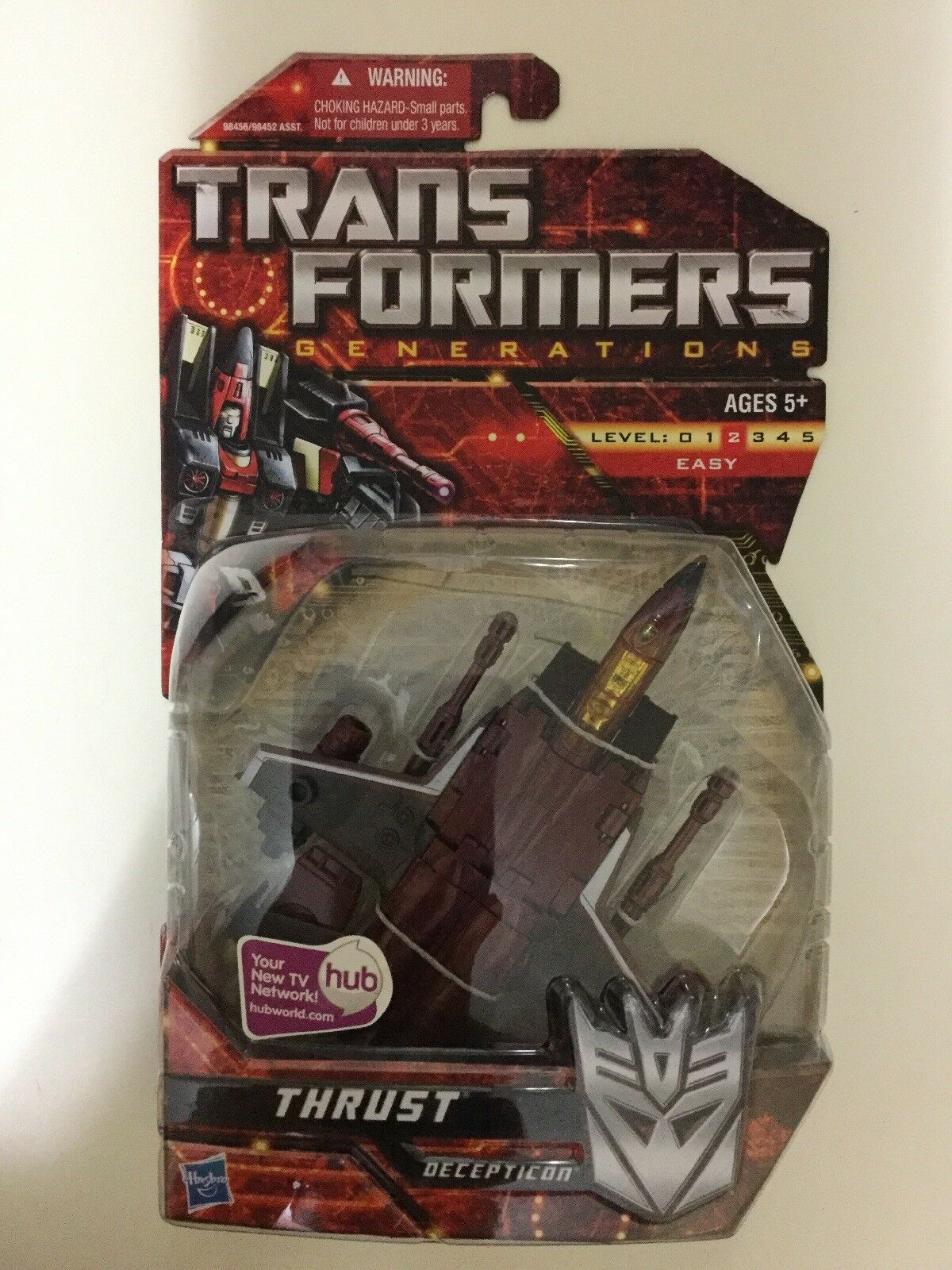 Transformers Generations Deluxe Class Thrust