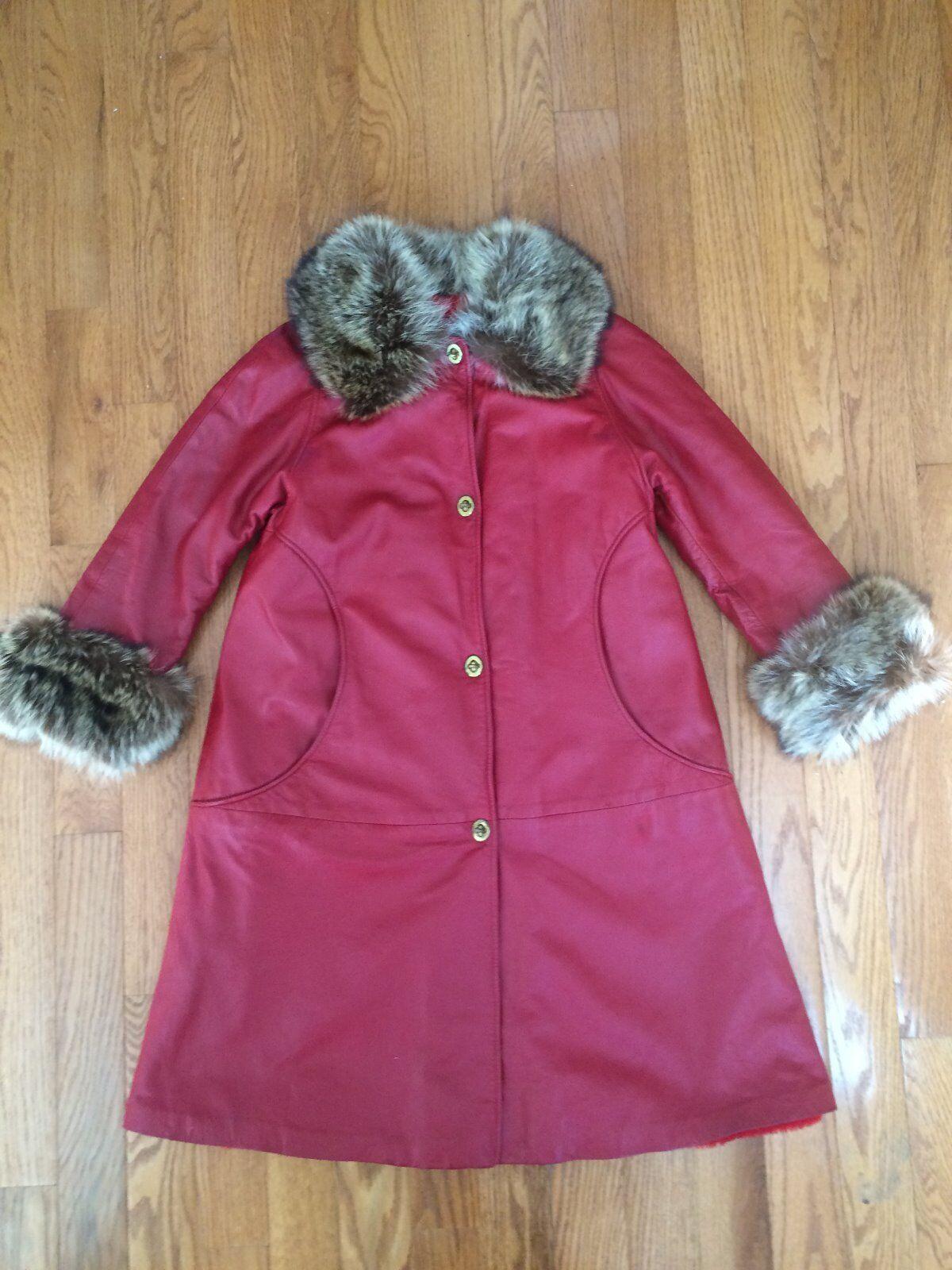 Vintage Bonnie Cashin for Sills red Angola leathe… - image 7