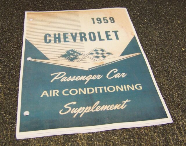 1963 Chevrolet Impala Air Conditioning Manual Guide