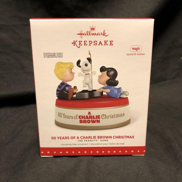 Hallmark 50 Years Of Charlie Brown Christmas Ornament 2015 Peanuts
