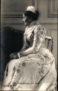 Ansichtskarte-PK-sw-Grossherzogin-v-Baden-Liersch-1906-ungel-Adel-Fotografie