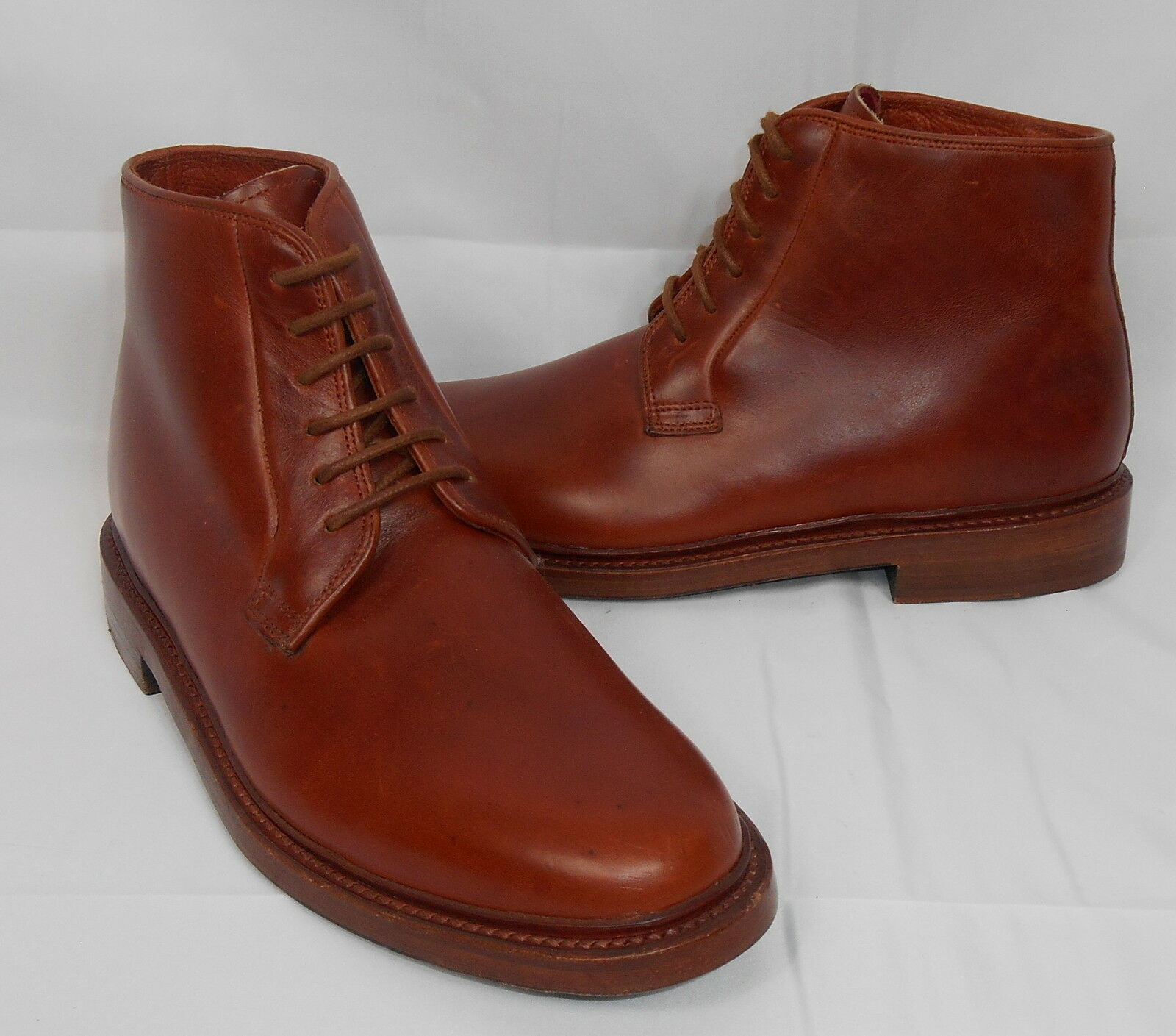 NEW  Florsheim by Duckie Military Boots Cognac 7 D