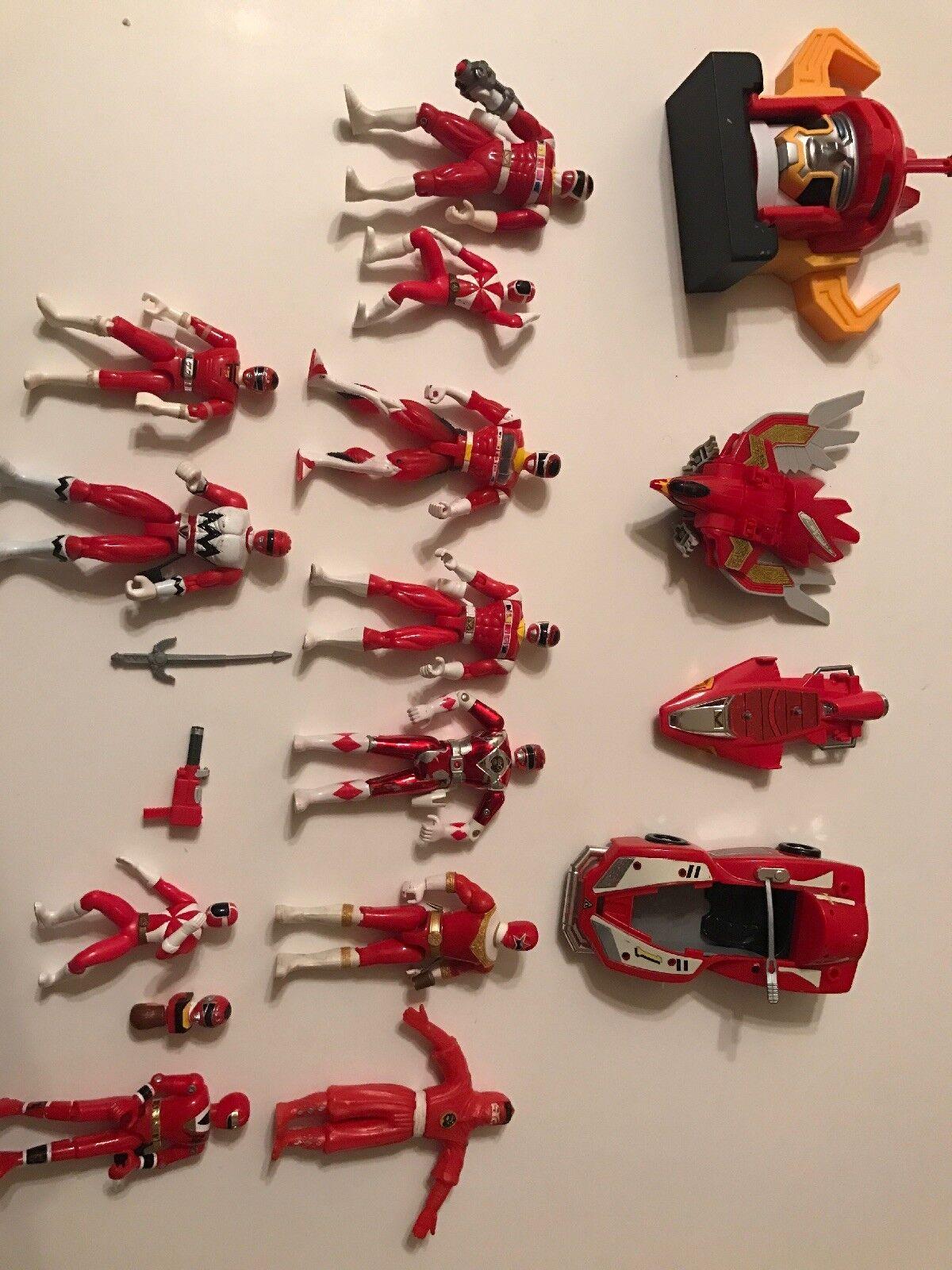 Power Ranger ROT Ranger set of toys RARE