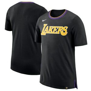 Nike Black Basketball Fan T-Shirt Men s Los Angeles Lakers M Black ... 32cca2645