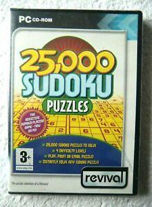 31113-25-000-Sudoku-Puzzles-Neuf-Scelle-PC-2005-Windows-XP-REV082-D