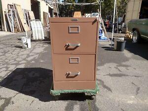 File Cabinets 2 Drawer Legal Metal Lock Key Beige We Deliver