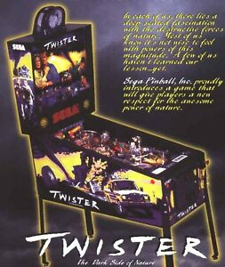 Sega Twister pinball sound rom chip set