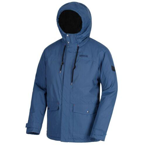 Regatta Men/'s Syrus Waterproof Insulated Jacket Dark Denim RRP £90