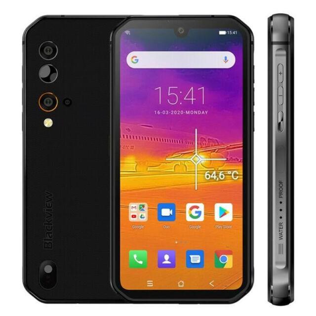 Blackview BV9900 Pro 8GB 128GB Smartphone Caméra Thermique Helio P90 48MP Gris