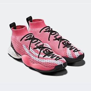 huge selection of fc0aa fc3ed Image is loading New-Mens-Adidas-Original-CRAZY-BYW-LVL-X-