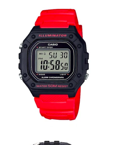 Casio-W-218H-4BVDF-Red-Resin-Watch-for-Men