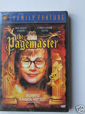 PAGEMASTER(THE)((1994)LBX (BRAND NEW DVD(MACULAY CULKIN)20TH CENTURY FOX RELEASE