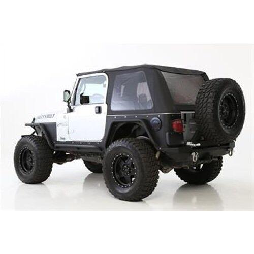 Smittybilt 9973235 Bowless Combo Soft Top For 1997-2006 Jeep JK Wrangler