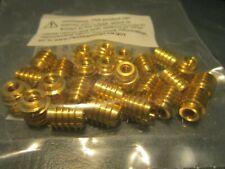 25 E Z Lok 400 006 Threaded Insert Brass Knife Thread 6