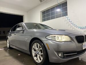 """2012 bmw 528 Xdrive -""""""""clean Car Fax"""""""""""