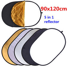 CY 90x120cm 5in1 Multi Photo Disc Collapsible Light Reflector Photography Studio