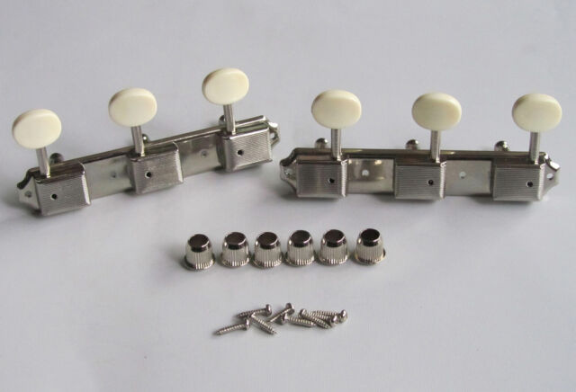 Possible Kluson guitar tuners on a strip