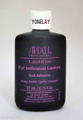 ARDELL LashTite Dark Adhesive Lash Glue for False Fake Individual Lashes